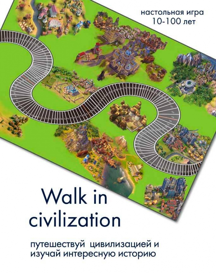 """Обучающая и познавательная игра """"Walk in сivilization"""""""