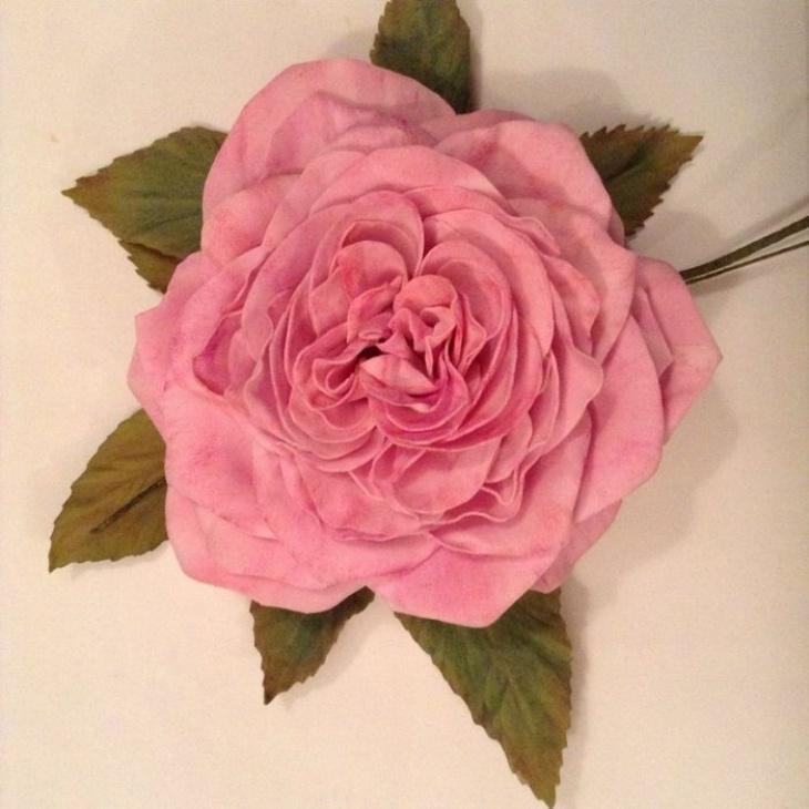 Квітка з фоамірану (заколка, брошка). Майстер-клас для підлітків і дорослих