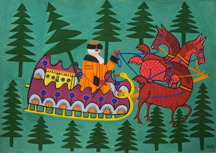 """Програма """"Зимові канікули зі звірами Марії Примаченко"""""""