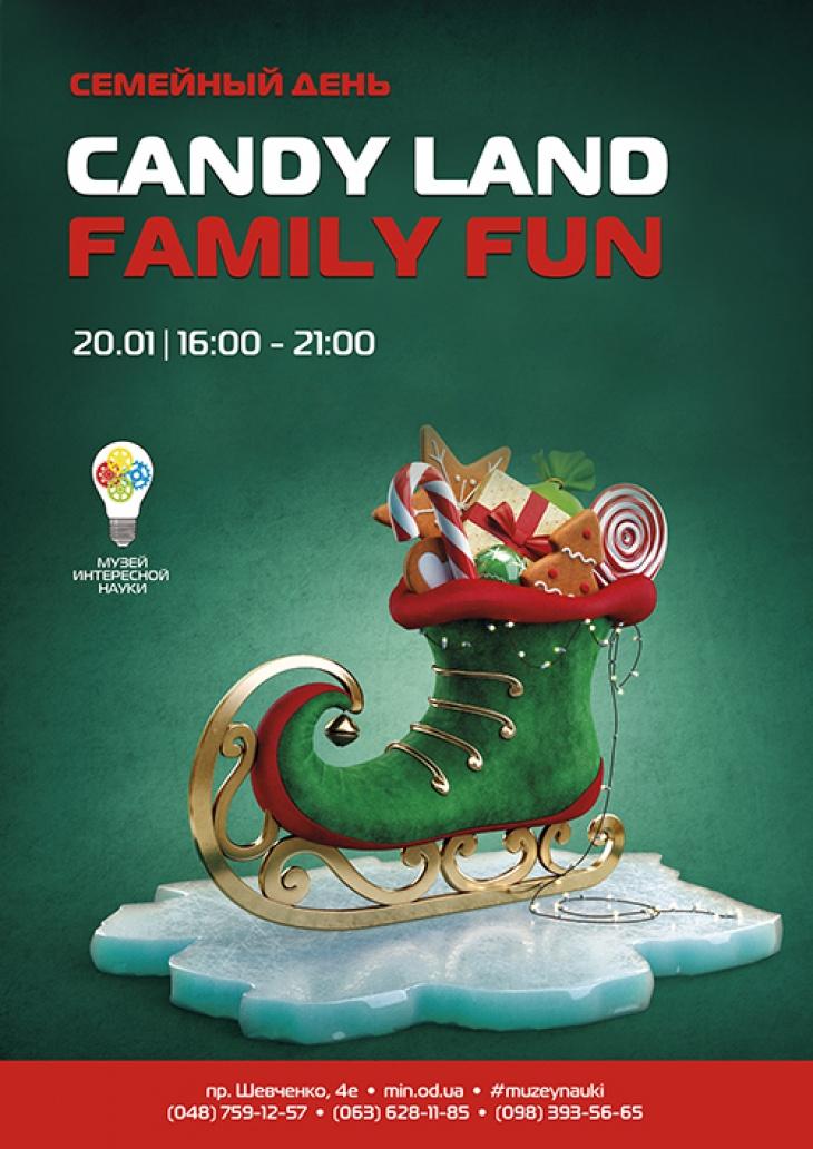 Family fun. Candy Land
