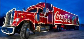 Вінниця, зустрічай новорічну вантажівку Coca-Cola