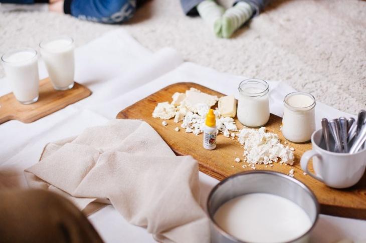 Кулінарний гурток для малюків. Молочні мандри