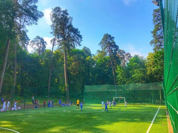 Футбольный лагерь от Ukrainian football camp