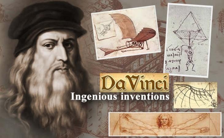 """Панорама-відкриття """"Леонардо да Вінчі. Різнобічний геній"""""""