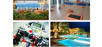 Літні канікули у Греції + курс робототехніки
