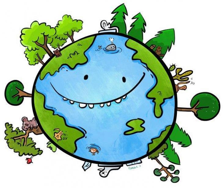 """Праздник """"День Земли"""" в одесском зоопарке"""