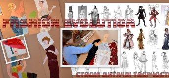 """Курс для маленьких художників-модельєрів  """"Еволюція Моди"""""""