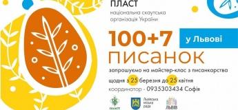 100+7 писанок у Львові