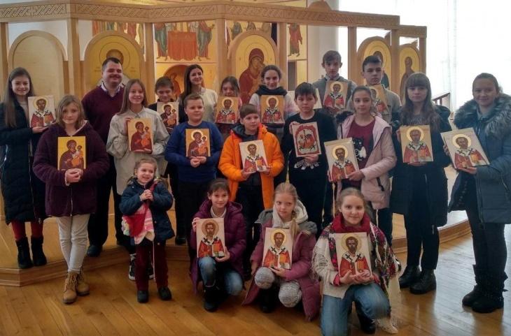Весняний курс іконопису для дітей