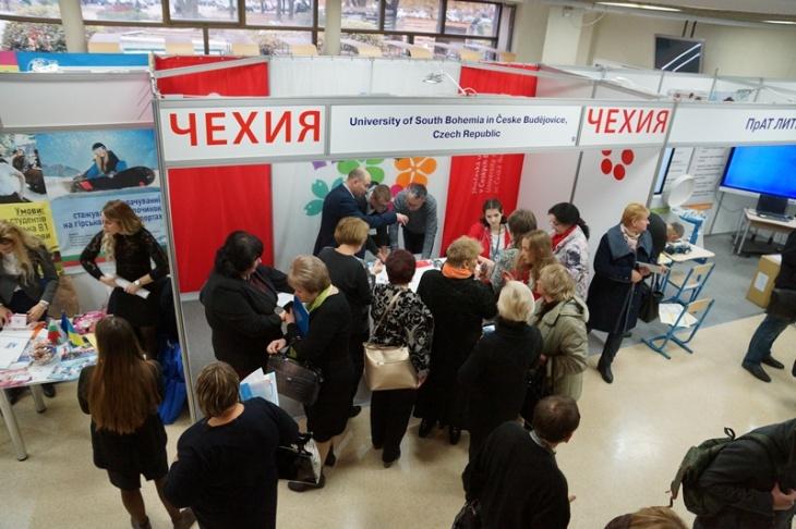 """Десята міжнародна виставка освіти за кордоном """"World Edu"""""""