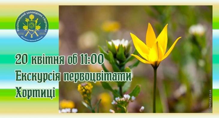 """Екскурсія """"Весняні квіти Хортиці"""""""