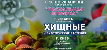 """Выставка хищных и экзотических растений """"Пасхальная ярмарка"""""""