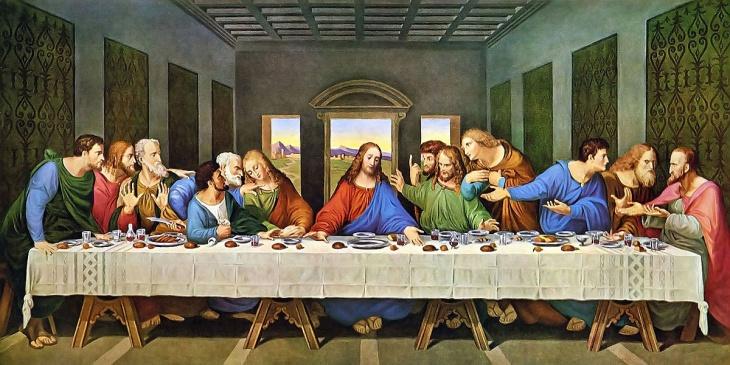 """Історія фрески Леонардо да Вінчі """"Таємна вечеря"""""""