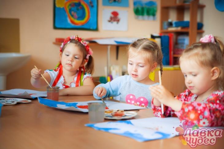 """Детский сад неполного дня в """"Лавке чудес"""""""