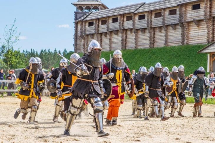 Під Києвом пройде Чемпіонат світу з середньовічного бою