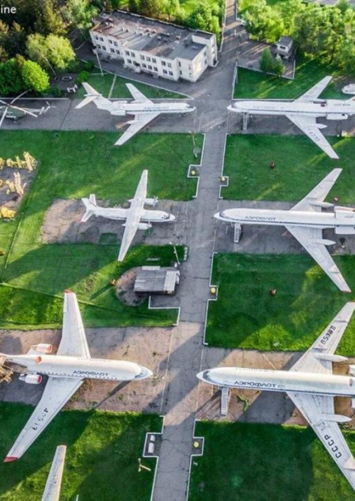 Экскурсия в музей самолетов под открытым небом