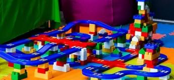 Игротека конструирования с разными видами конструкторов