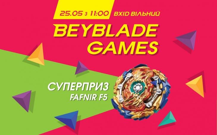 Турнір із BeyBlade Games у новому форматі