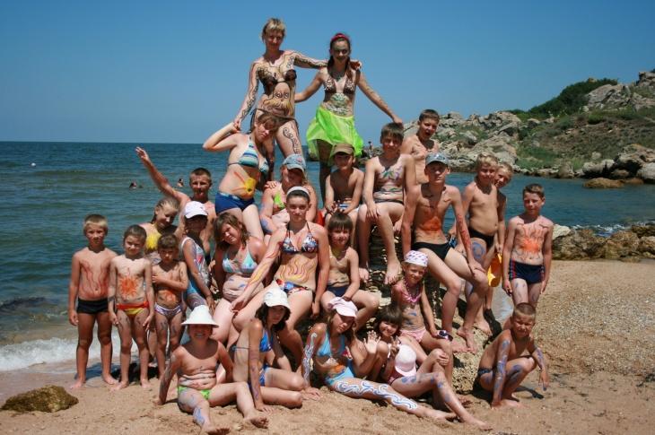 """Дитячий табір """"Морські пригоди"""""""