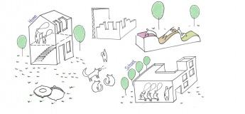 """Прогулянка з архітекторами для дорослих та дітей """"Історія і сучасність"""""""