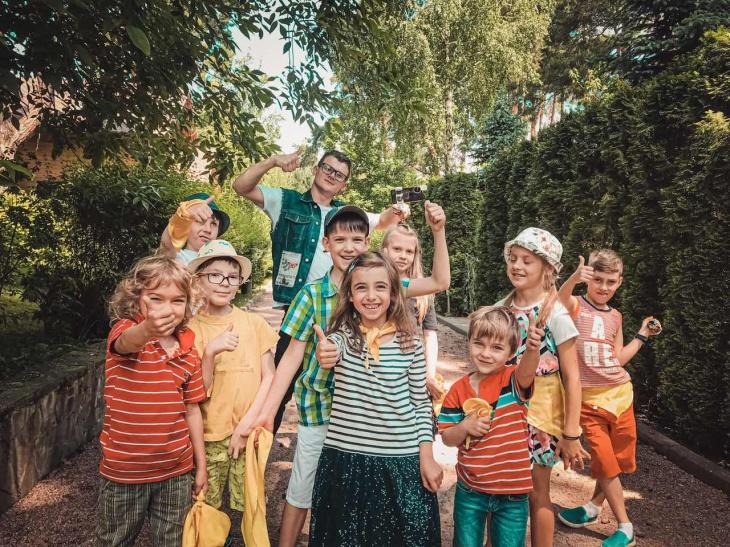 """Квест для дітей """"Блогери. Секрет Аноніма"""" в Маріїнському парку"""