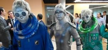 Лазерные бои с пришельцами в космическом лабиринте