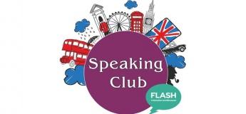 Speaking club від школи Flash з носієм мови!