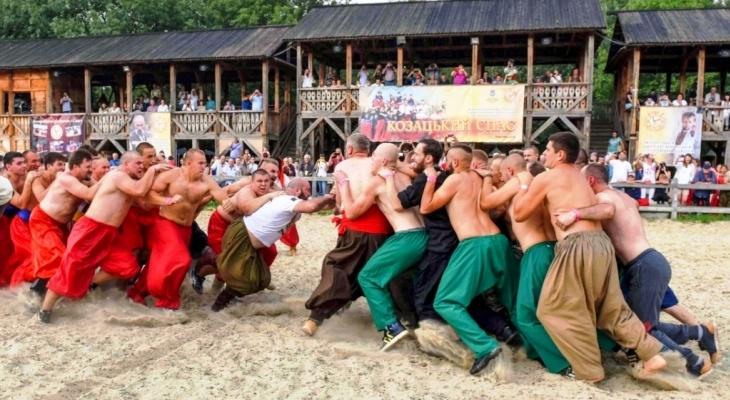 """Міжнародний фестиваль національних воїнських та традиційних культур """"Козацький Спас"""""""