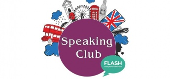 "Speaking club у школі ""Flash"" з носієм мови!"