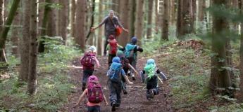 Набор в лесные сады и уличную группу продленного дня