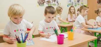 Набор детей от 1 года до 6 лет