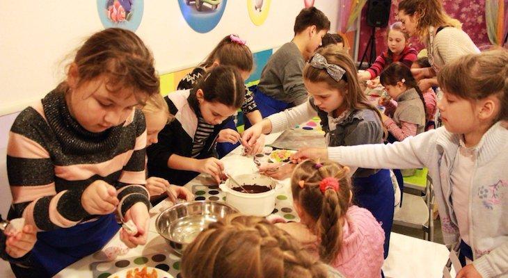 Майстер-клас з виготовлення шоколадних ласощів