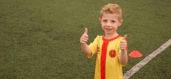 Безкоштовне заняття з футболу для дітей