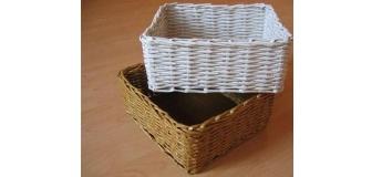 Майстер-клас з плетіння кошика з газетних трубочок