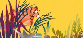 Литклуб Букмоль: Тигрик-оригами