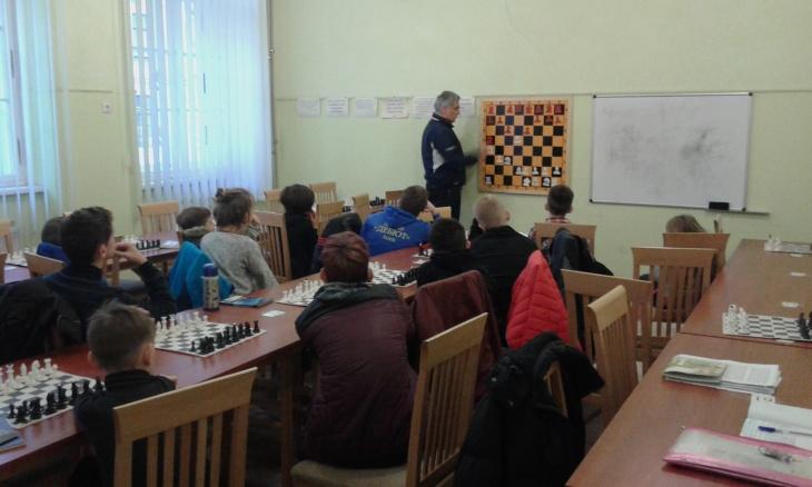 Урок з гросмейстером