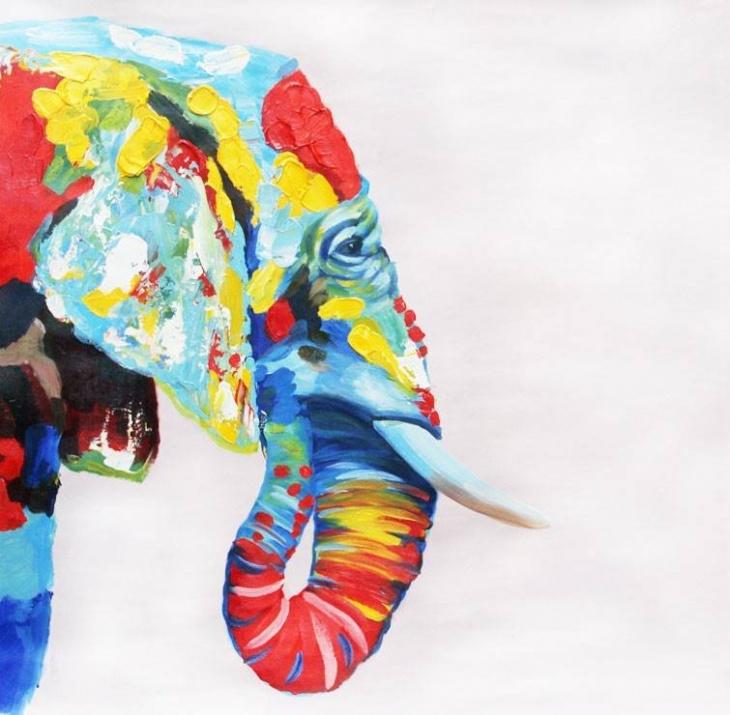 """Майстер-клас для дітей """"Слон в стилі поп-арт"""""""
