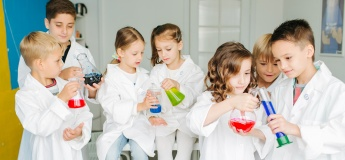 Химические опыты в игровой форме