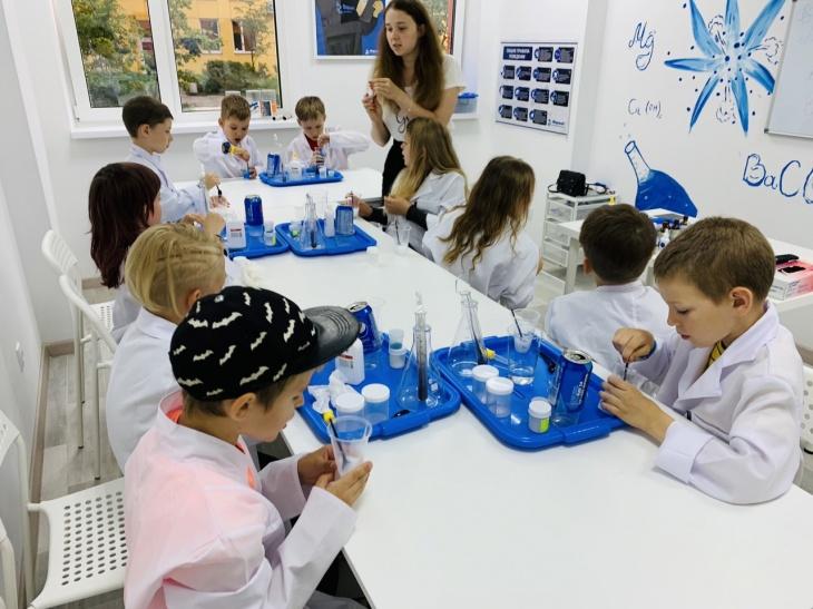 Хімічні досліди в ігровій формі