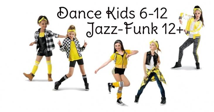 Открыт набор в группы по Dance kids & Jazz Funk