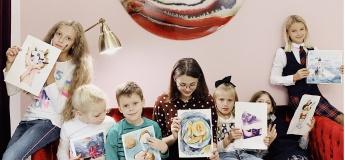 Курсы рисования для детей от Fantasy Room