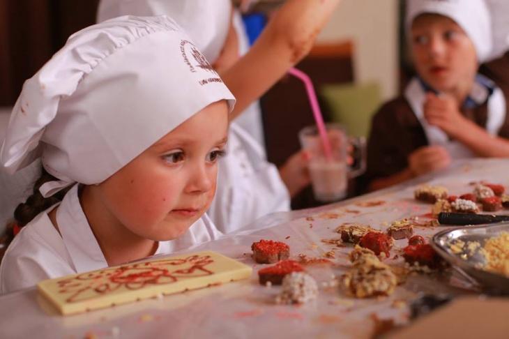 Майстер-клас від Львівської Майстерні Шоколаду