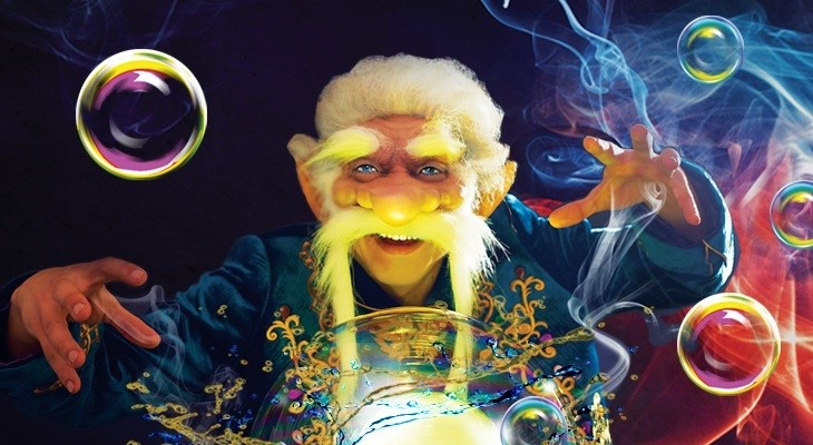 Большое буль-буль шоу «Секрет пузыря счастья»