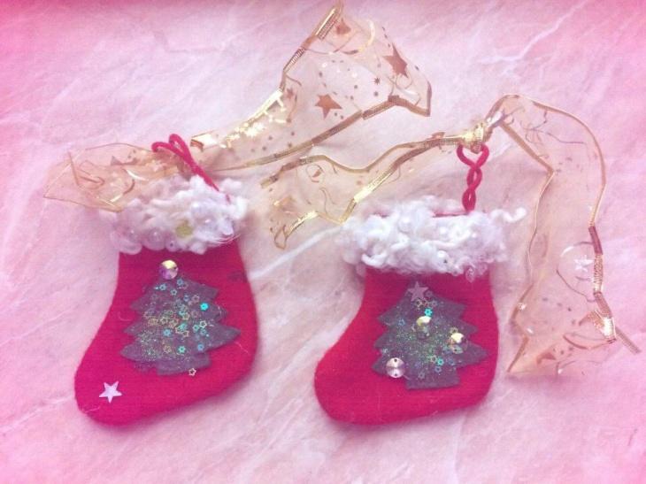 """Майстер-клас """"Різдвяні носочки"""""""