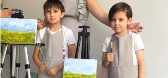 Майстер-клас з олійного живопису для дітей