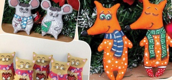 Детский мастер-класс по росписи кофейно-ванильной игрушки