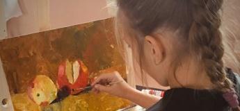 Креативний курс живопису: акварель, акрил, олія, пастель