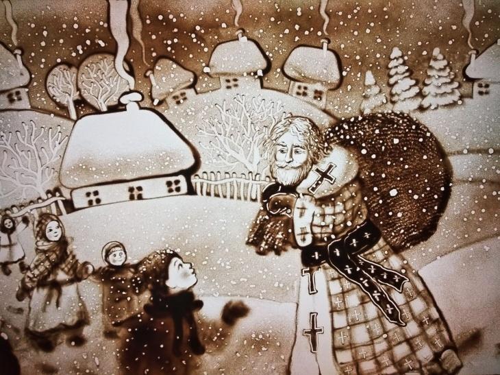 Прем'єра! Різдвяні казки та історії Сашка Лірника