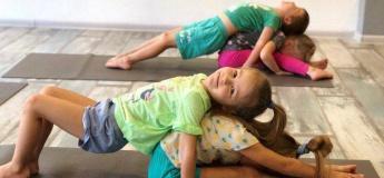 Fly yoga для детей 3,5-6 лет