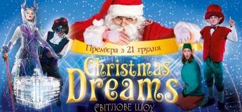 Різдвяне світлове шоу для дітей в Premier Palace
